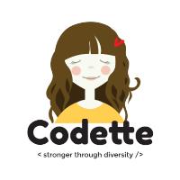 Codette este organizatia persoanelor pasionate de tehnologie ce promoveaza diversitatea si educatia la toate nivelurile si creeaza oportunitati pentru femei de a activa intr-un domeniu tehnic.